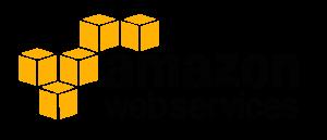 AWS logo 長方形