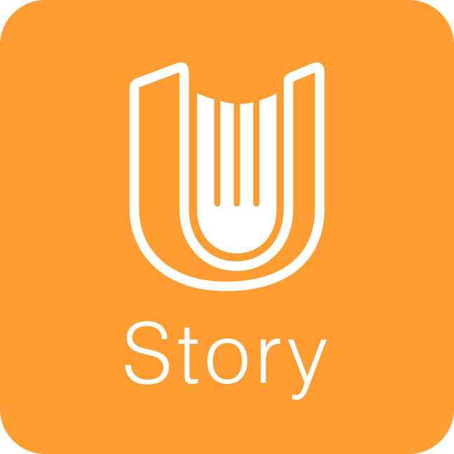 聯合報系 uStory 有故事 logo
